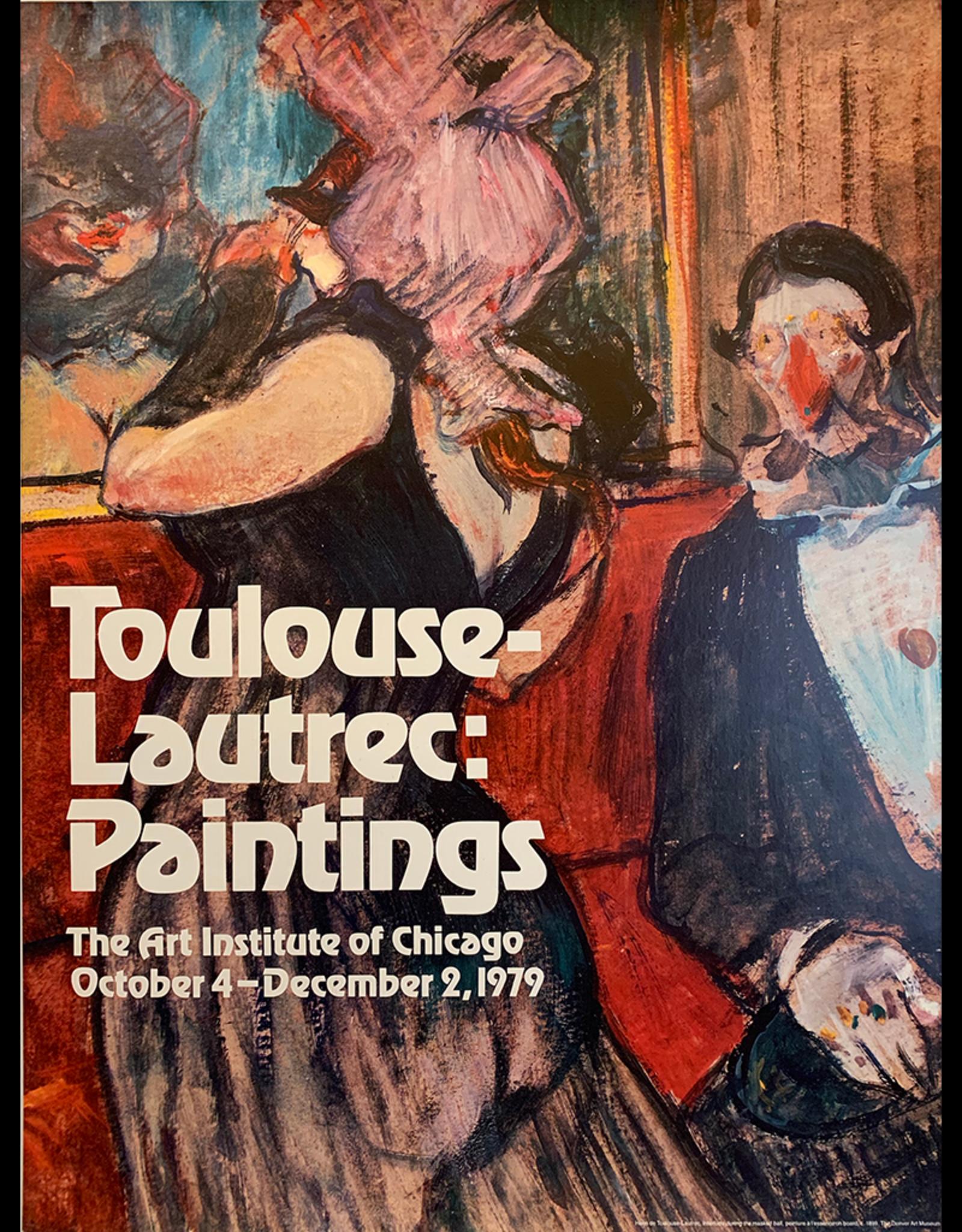 SPV Art Institute of Chicago, Toulouse Lautrec Poster