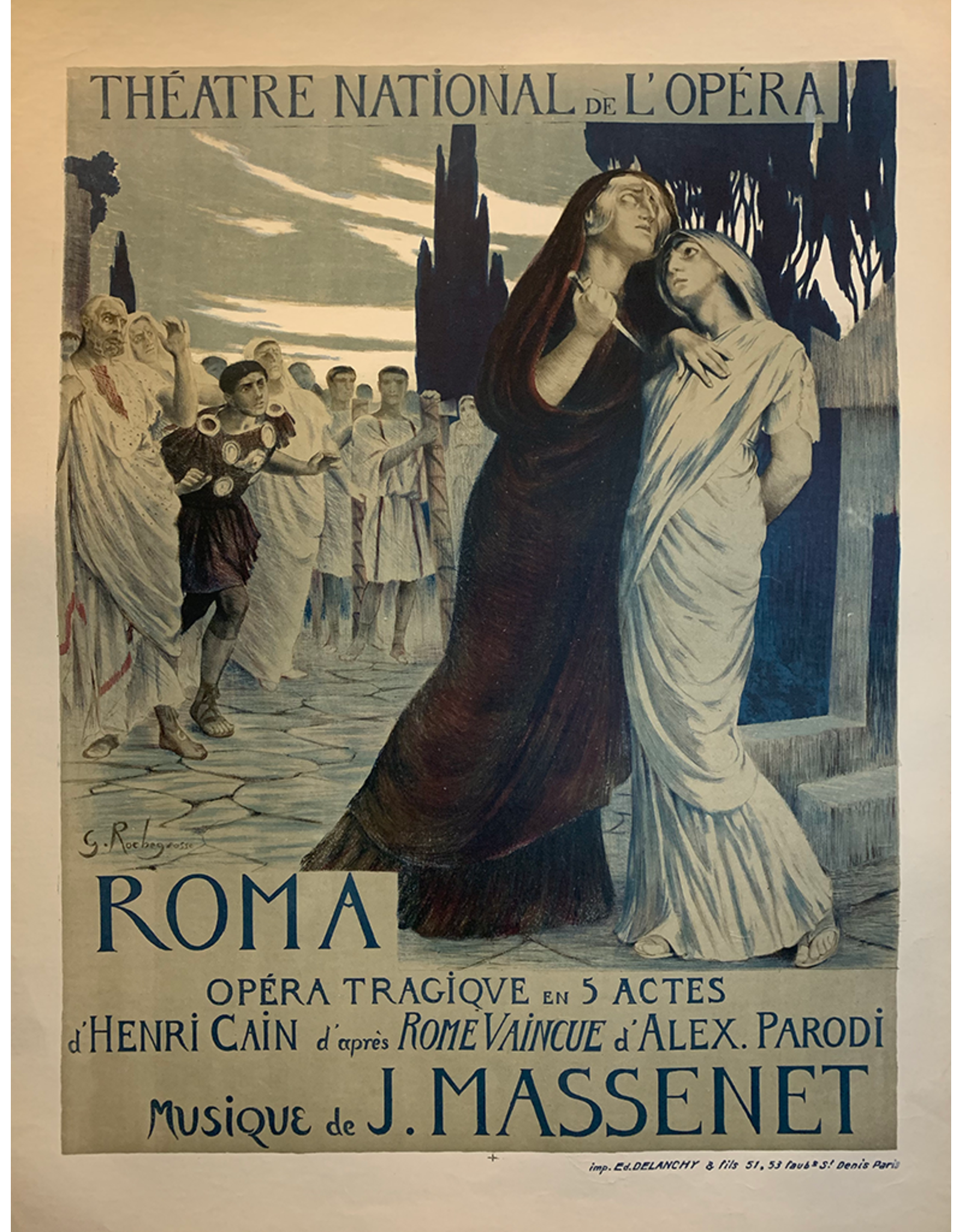 SPV Roma, by Massenet