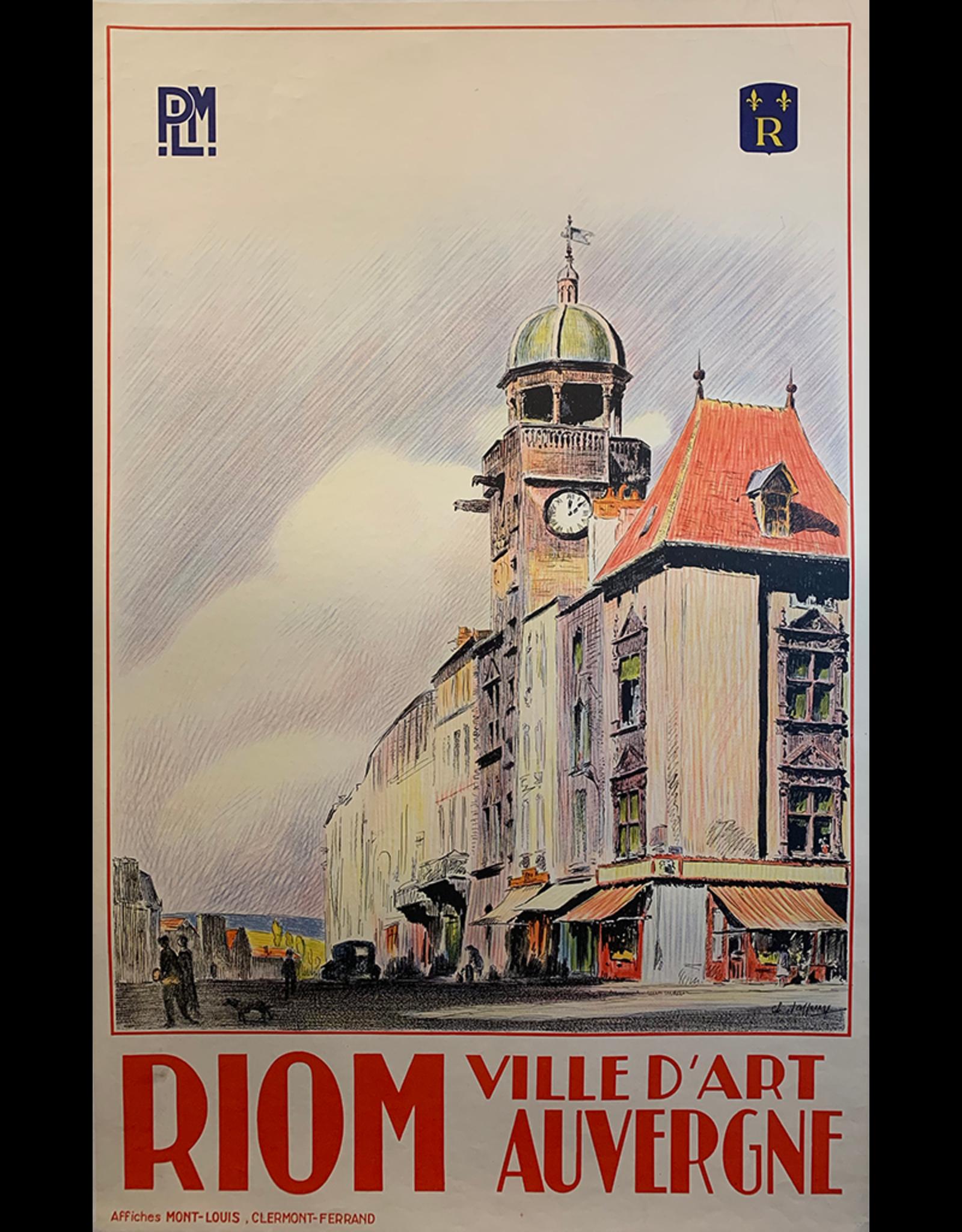 SPV Riom Ville D'Art Auvergne
