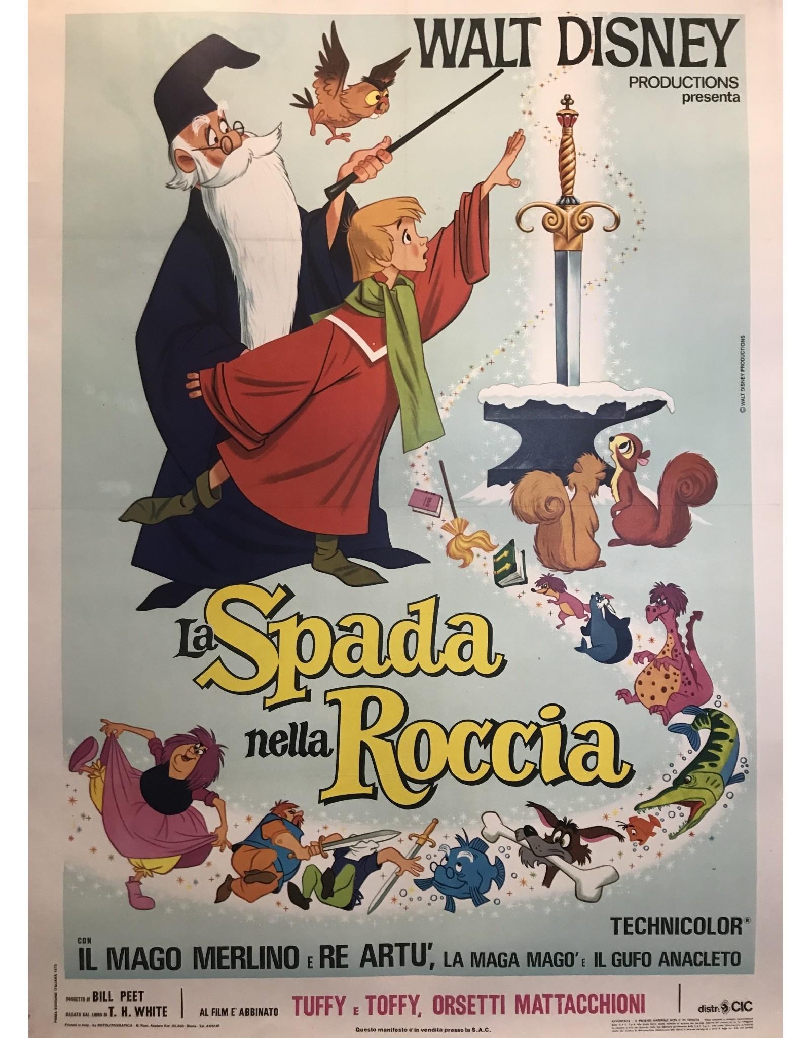 SPV Walt Disney LaSpanda nella Roccia (the Sword in the Stone)