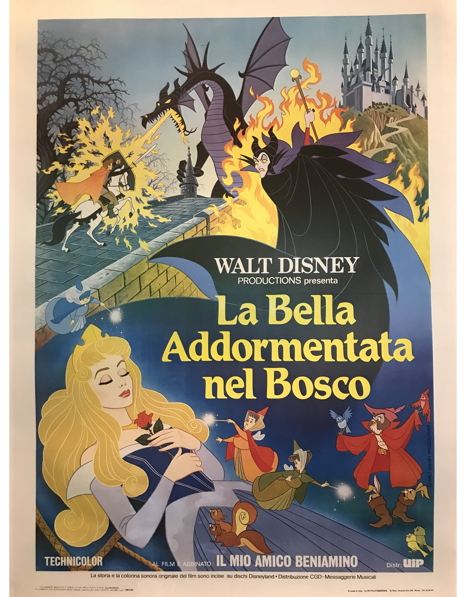 SPV Walt Disney La Bella Addormentata nel Bosco (Italian Sleeping Beauty)