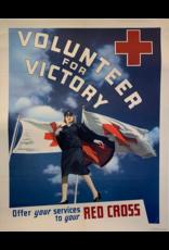 SPV Volunteer for Victory, Red Cross Original Print