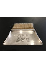 SPV Vintage silver crumb catcher with brush