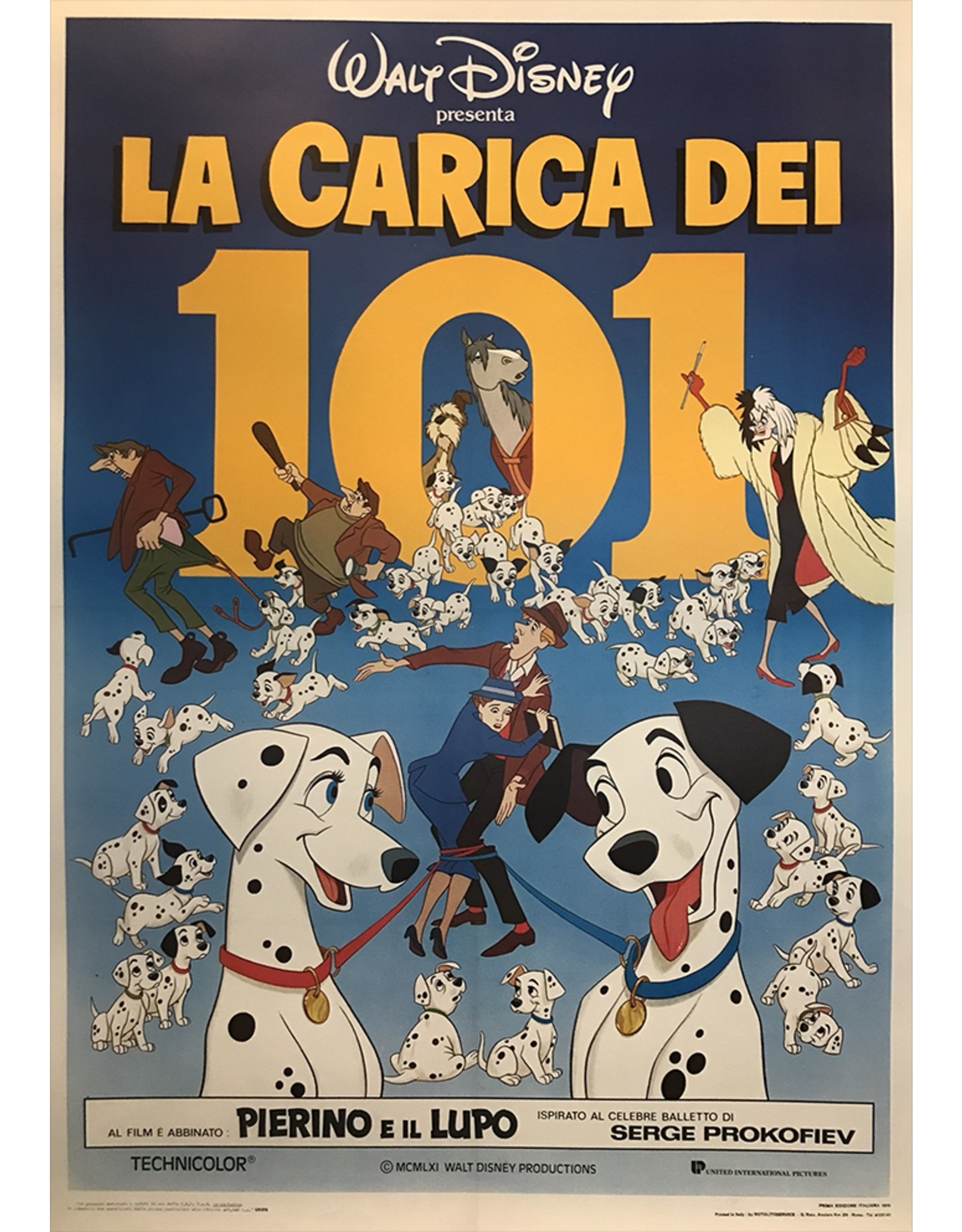 SPV Walt Disney La Carica Dei 101(Italian 101 Dalmatians)