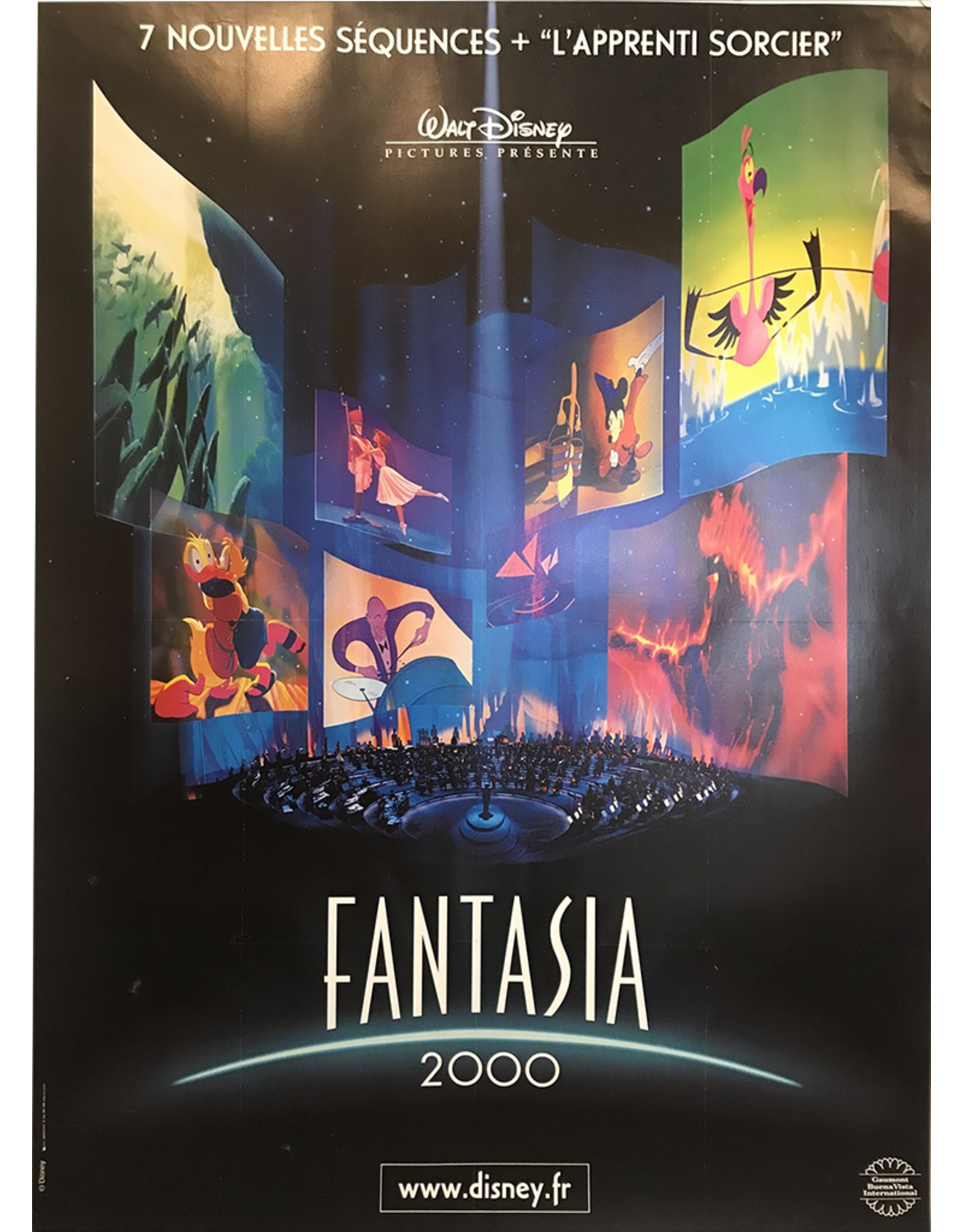 French Fantasia 2000 Poster South Pointe Vintage