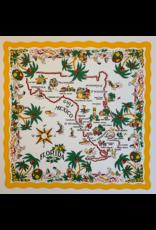 SPV Map of FL, Giclee fine art print from 1960