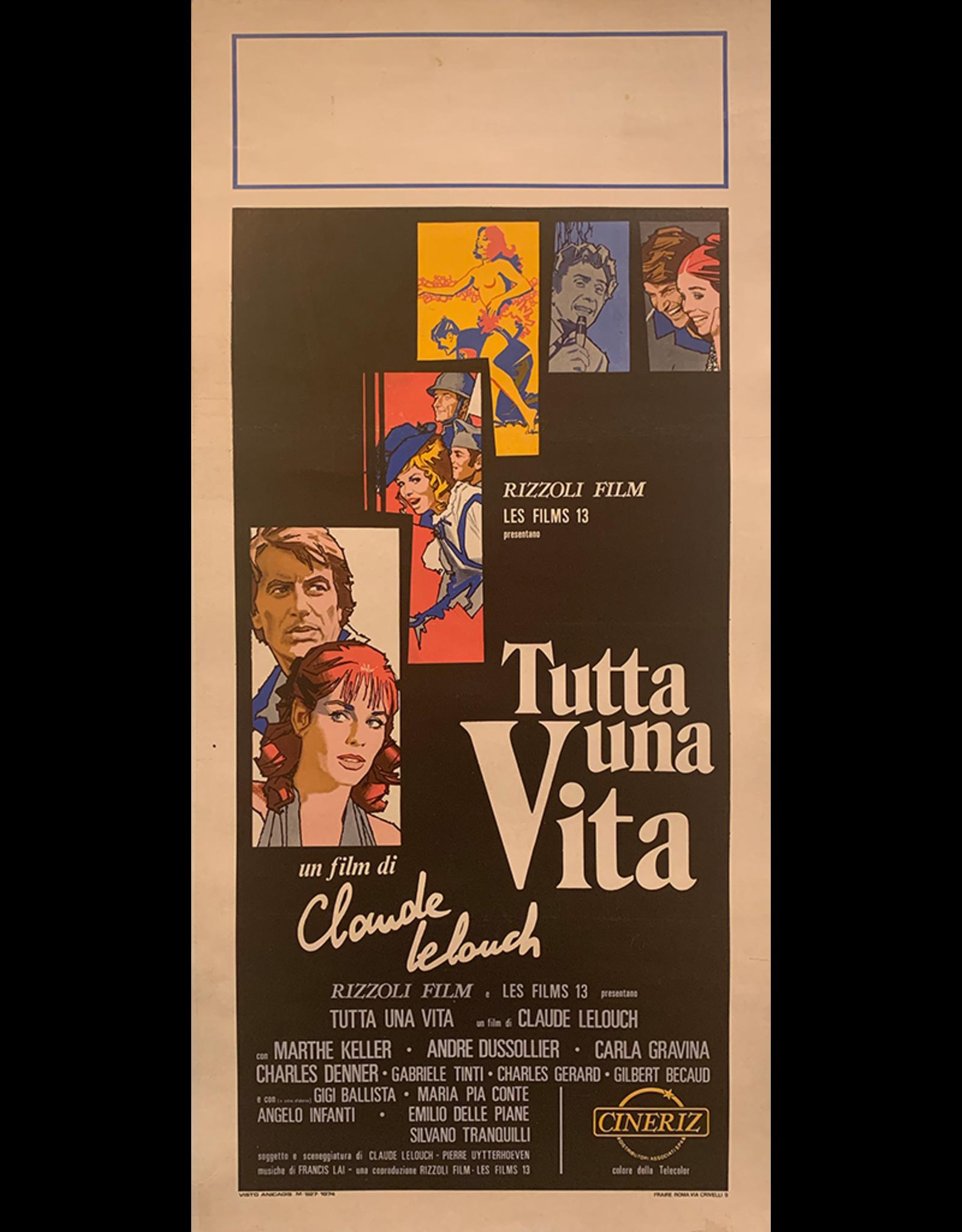 SPV Tutta Una Vita Movie poster
