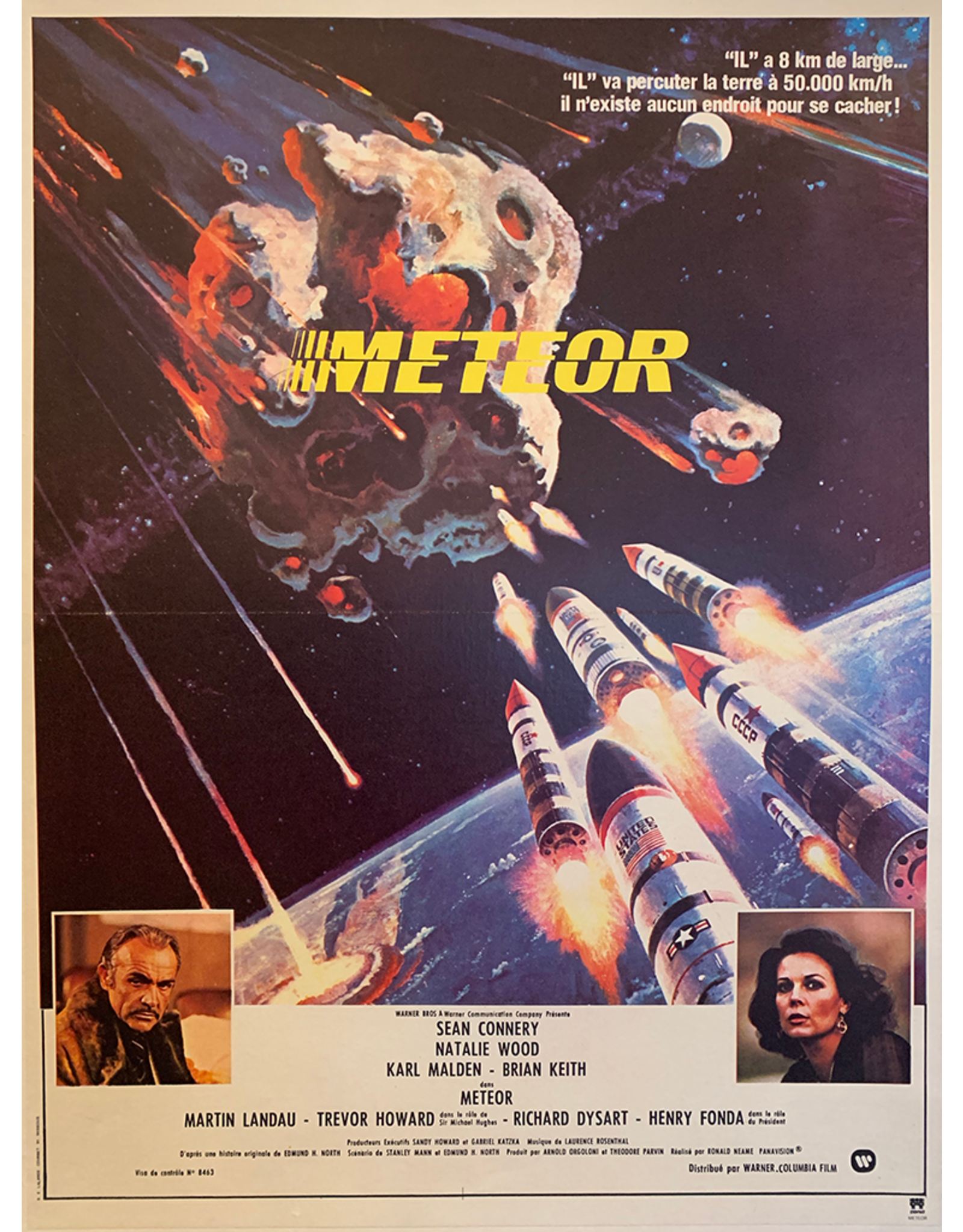 SPV Meteor, French Movie Poster