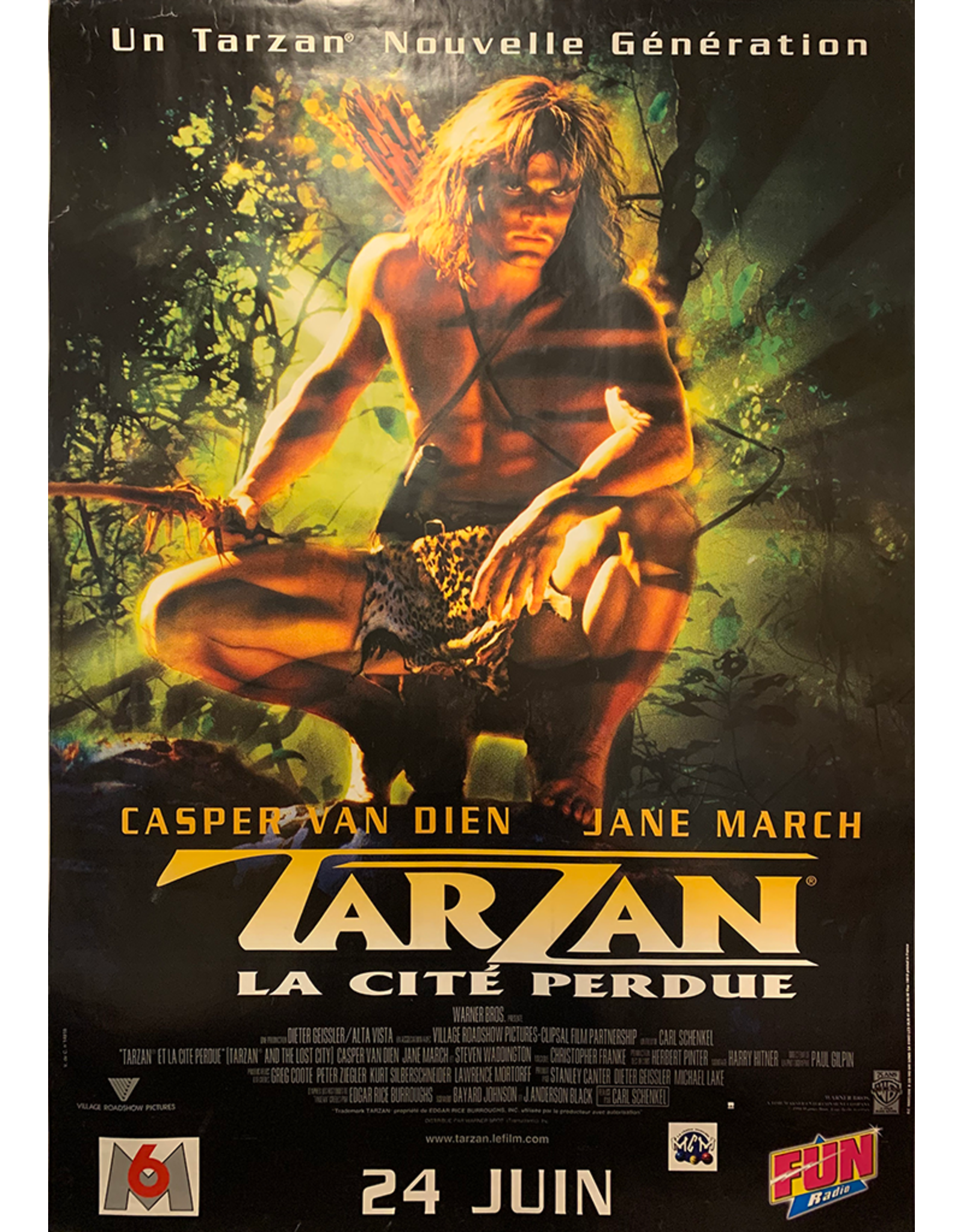 SPV Tarzan La Cite Perdue, 1998, French