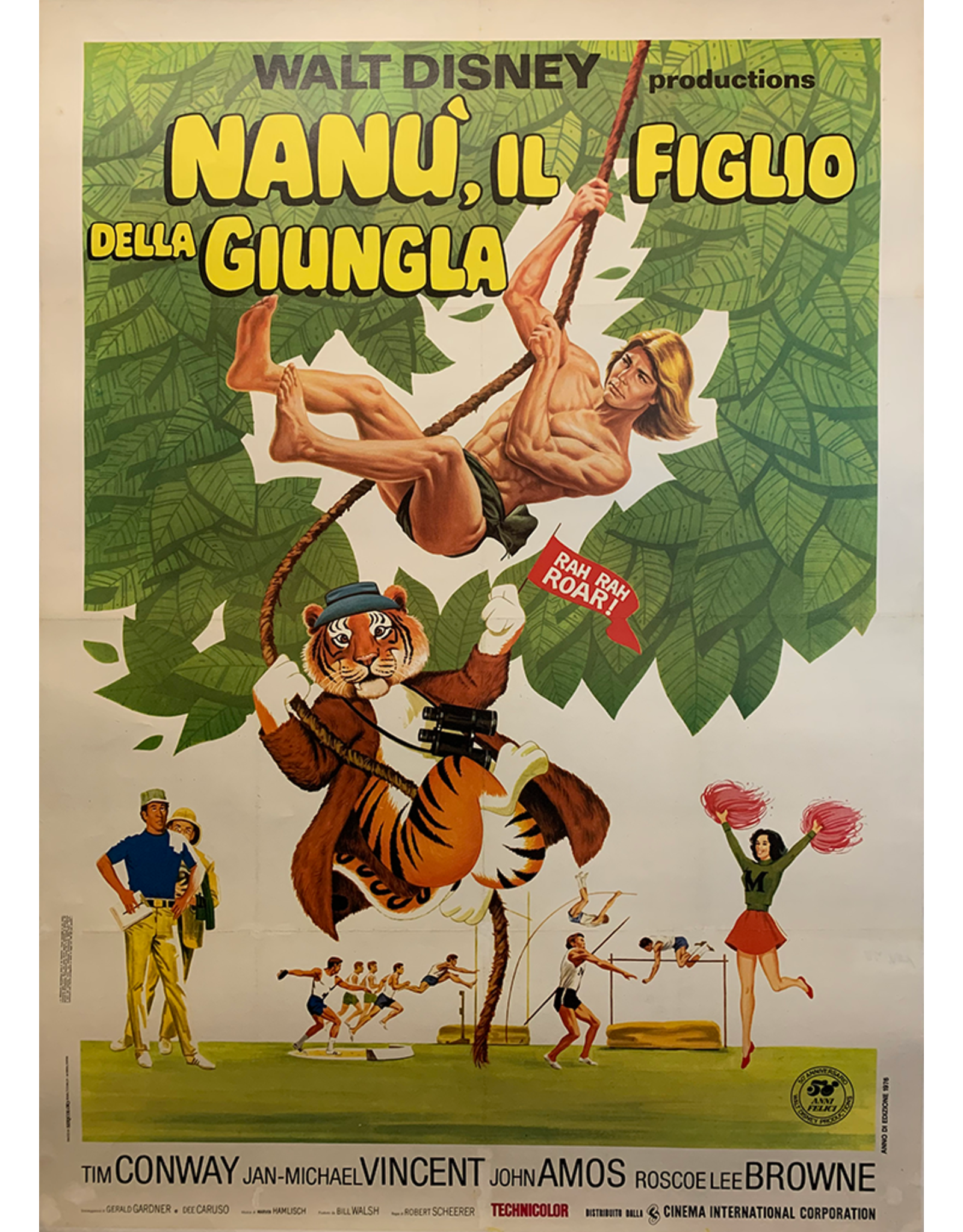 SPV Nana', Il Figlio della Giungla Movie Poster