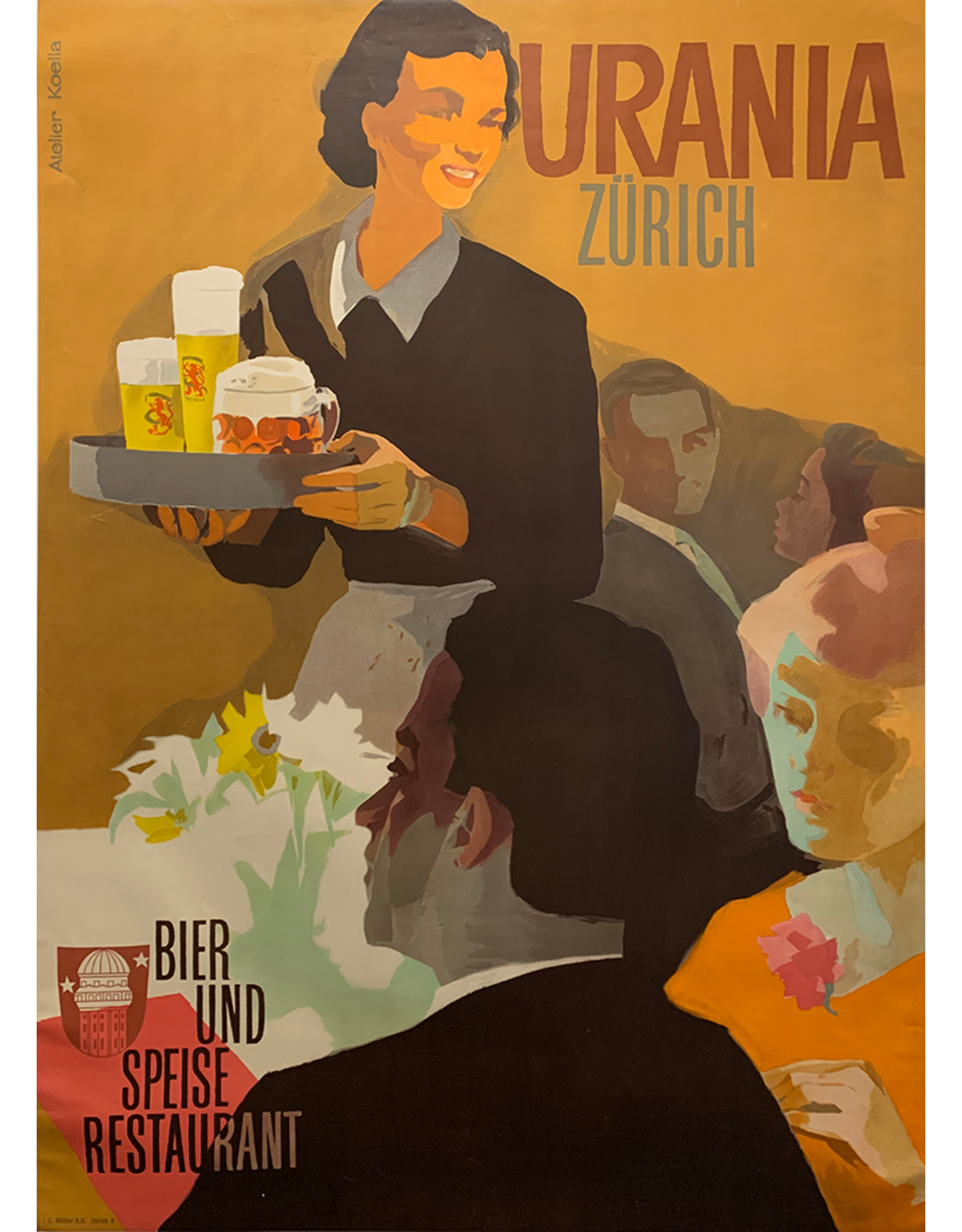 SPV Urana, Zurich Bier and Speise Restaurant