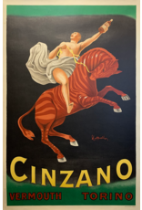 SPV Cinzano, printed on the occasion of the 50 Milan Fair
