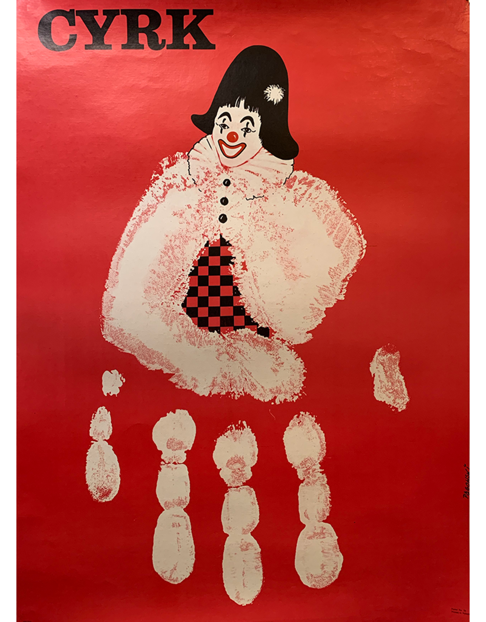SPV CYRK, Hand print clown