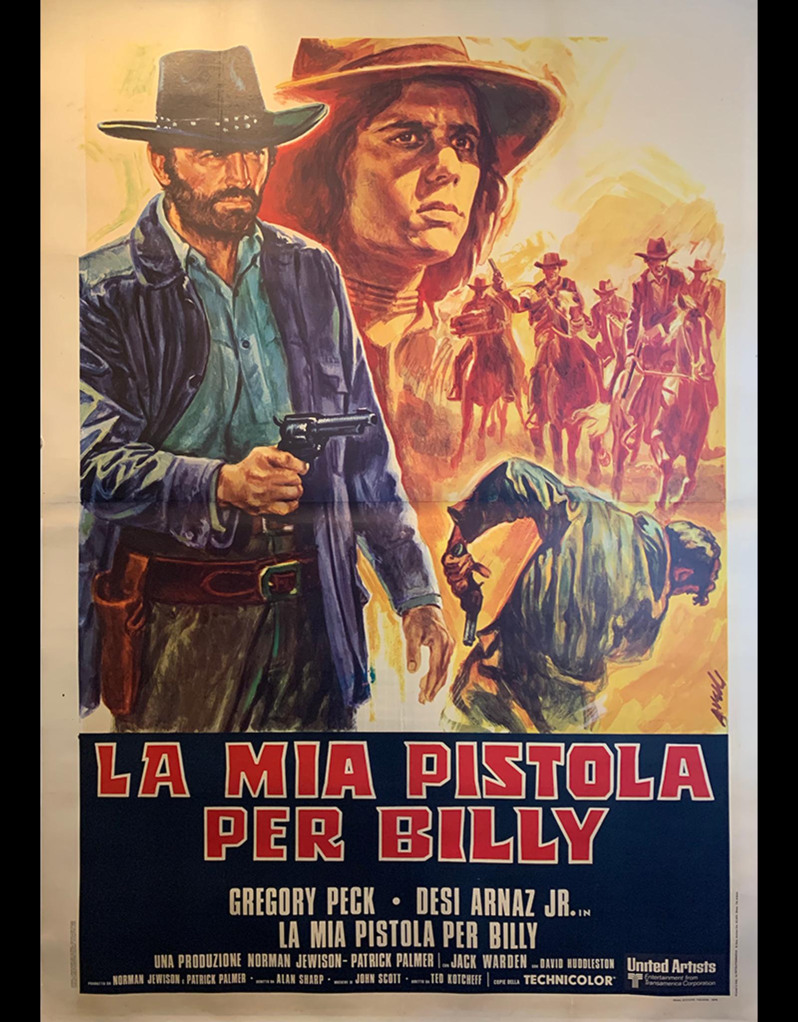 SPV Billy 2 Hats, Italian Movie Poster