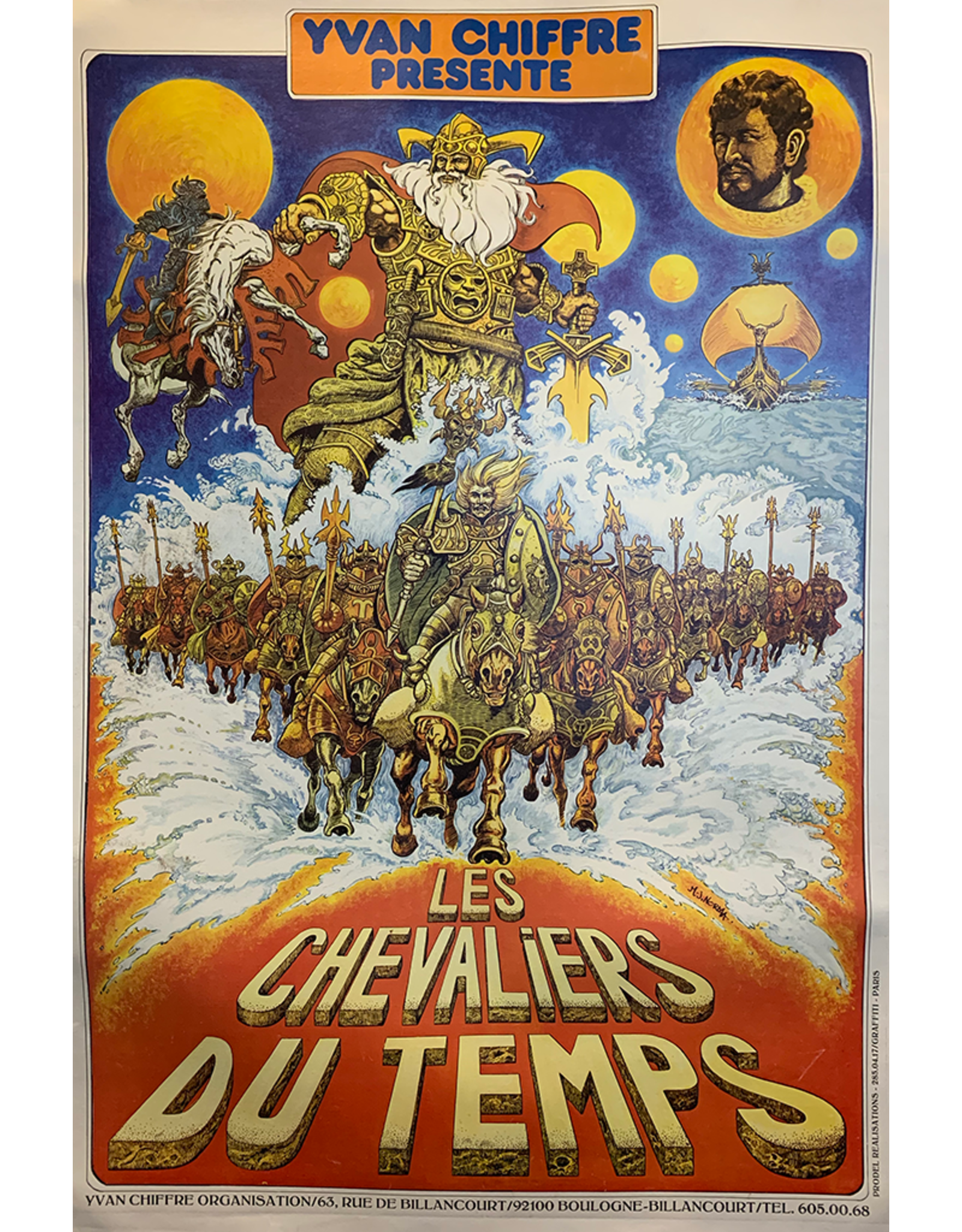 SPV Les Chevalier De Temps, 1970