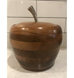 SPV Mid-Century Wood Apple Ice Bucket