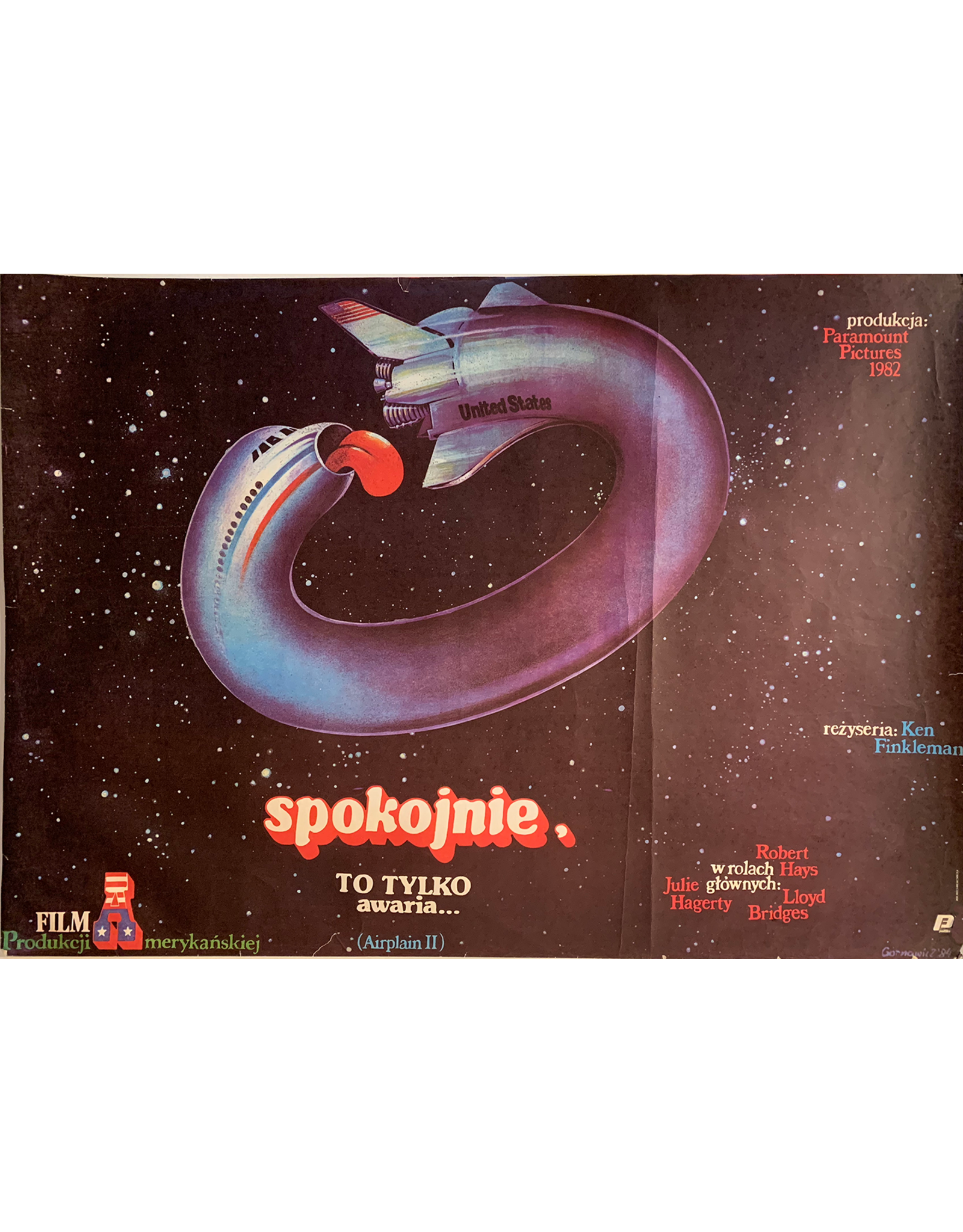 SPV Spolojnie_(Airplance 2)_Polish poster