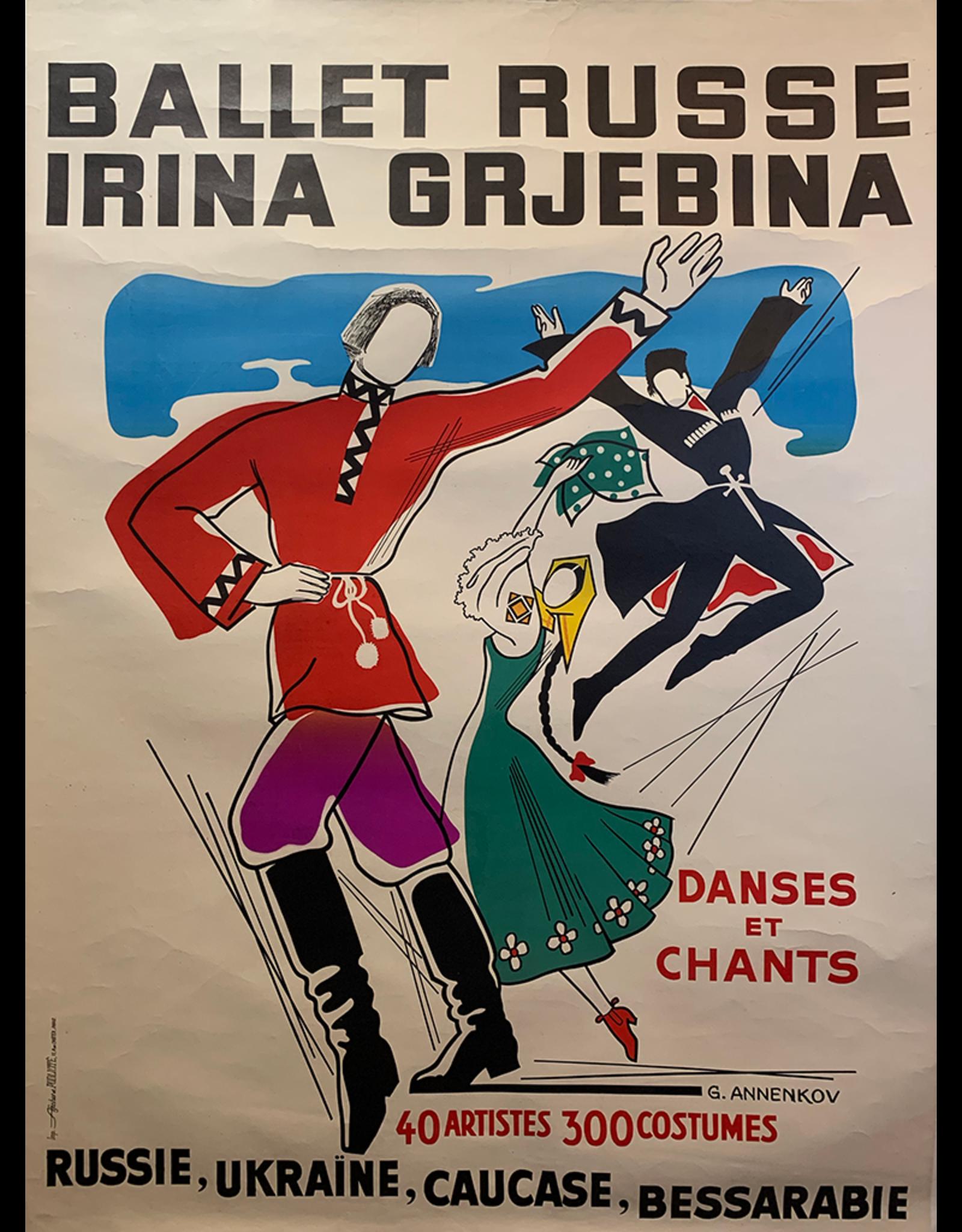 SPV Ballet Russe Irina Grjbina