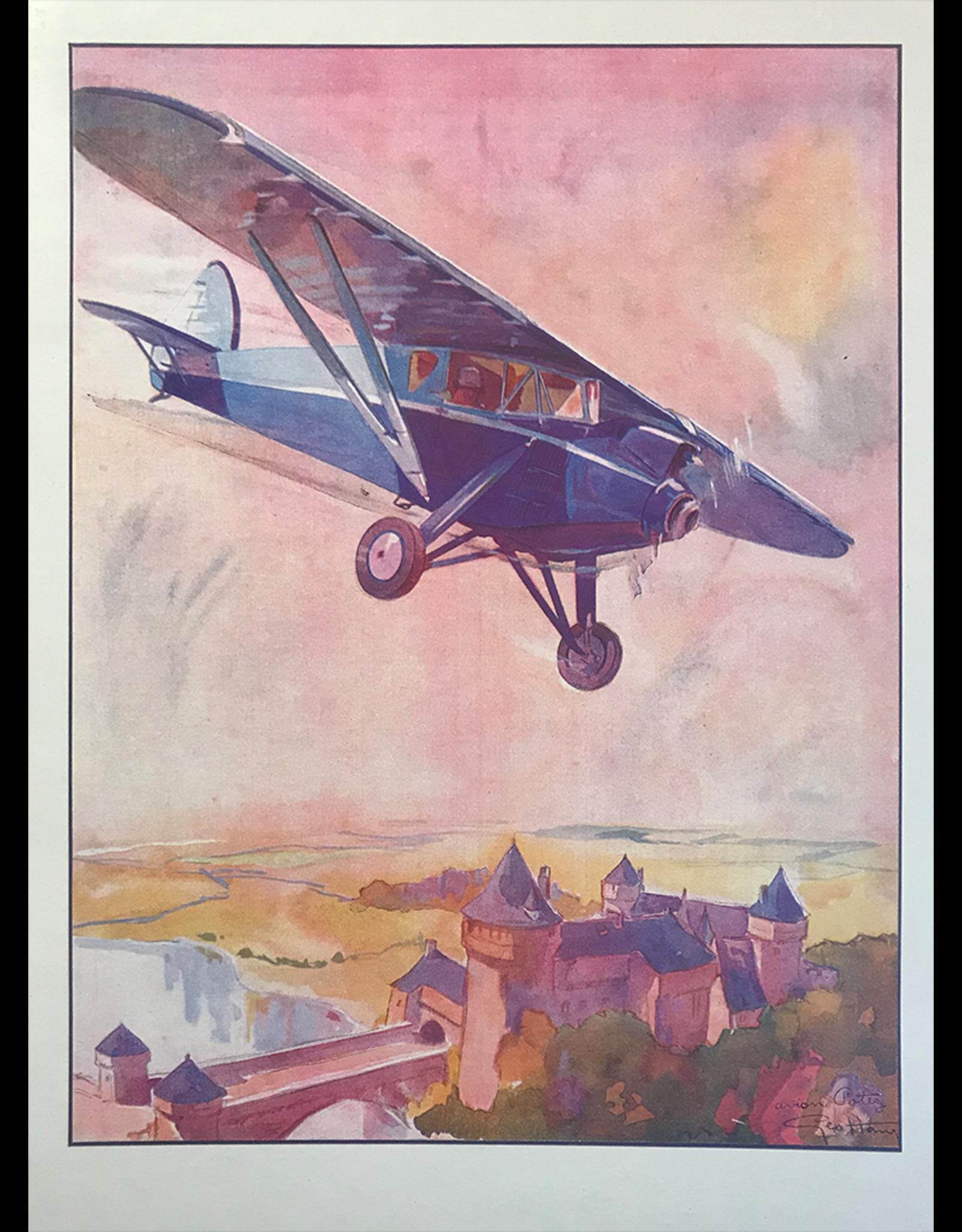 SPV Geo Ham aeroplane print