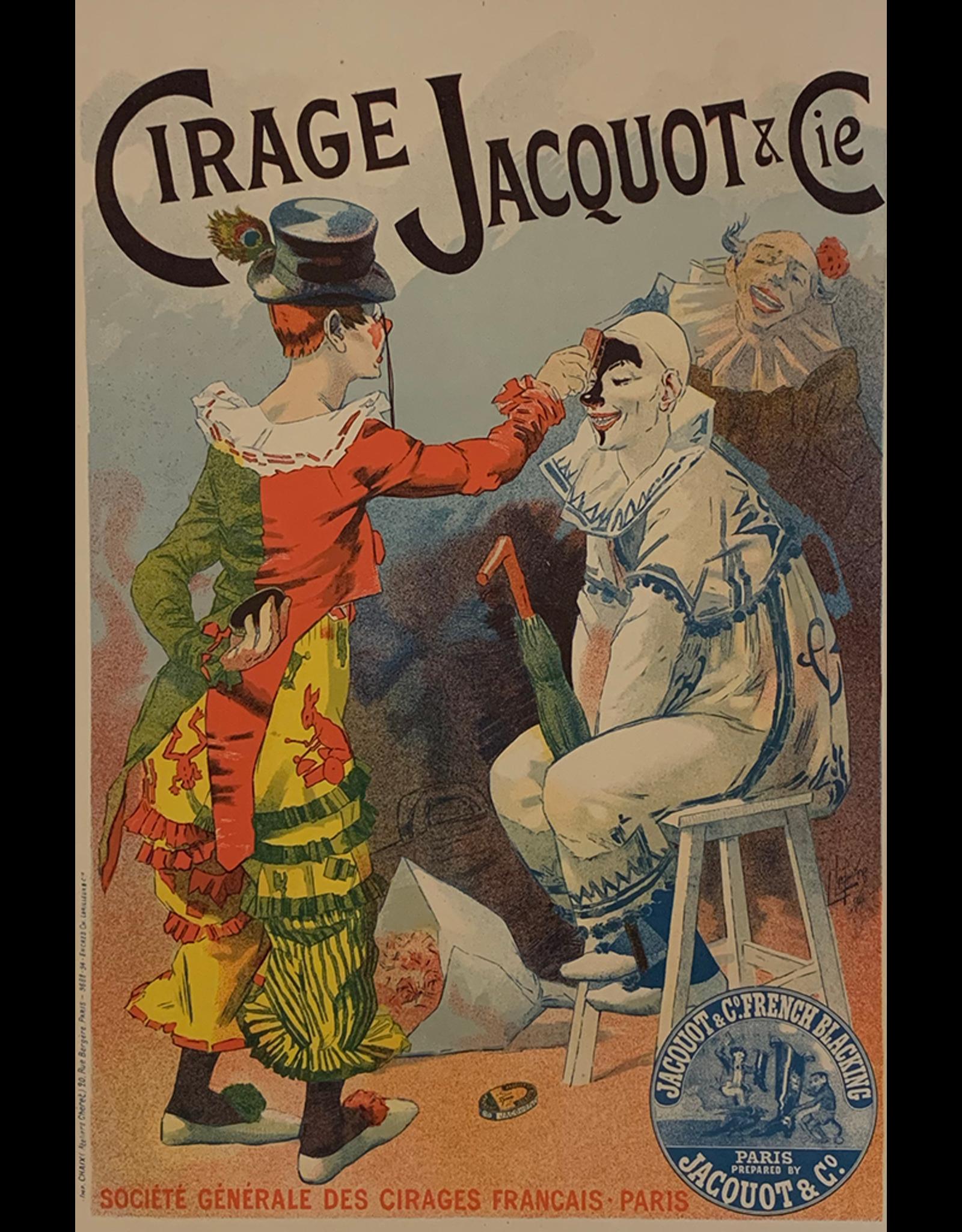 SPV Maitre de L'Affiche plate 90, Cirage Jacquot