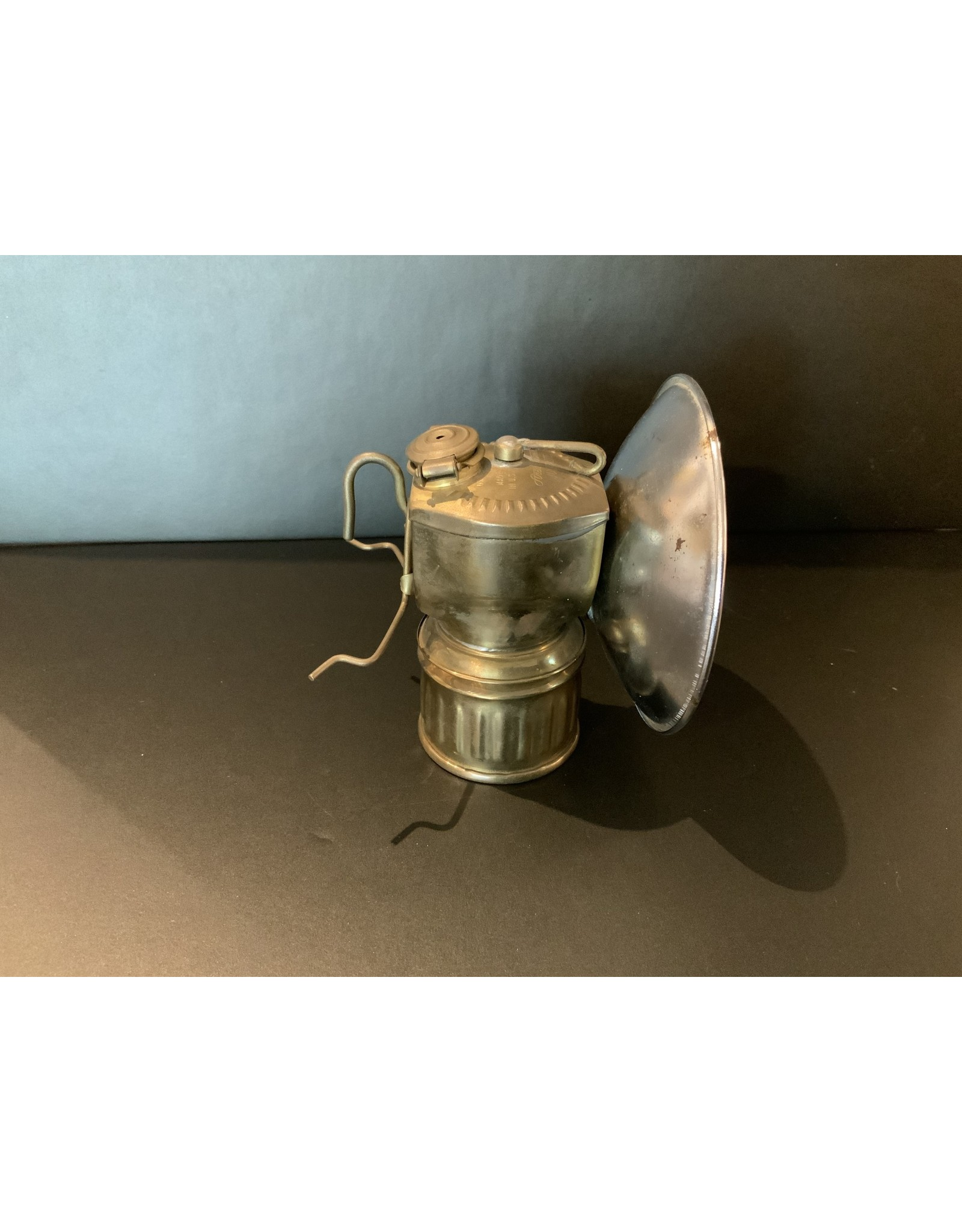 SPV Vintage Justrite carbide mining light