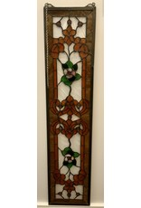Vintage Stained Glass Transom