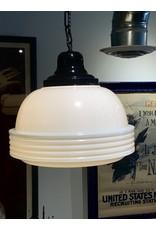 SPV Classic Mid-Century white milk glass pendant lights