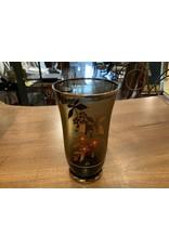 SPV Vintage Bohemian Glass Pitcher set