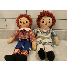 SPV 1970s original Knickerbocker Raggedy Ann and Andy Doll