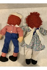 SPV 1970s original Knickerbocker Raggedy Ann and Andy Doll