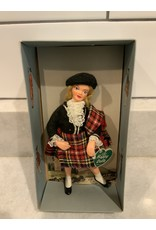 SPV Vintage Peggy Nisbet Happy Character Scottish Doll with Box