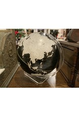 SPV The George F. Cram Co. Imperial Globe MCM Black and White