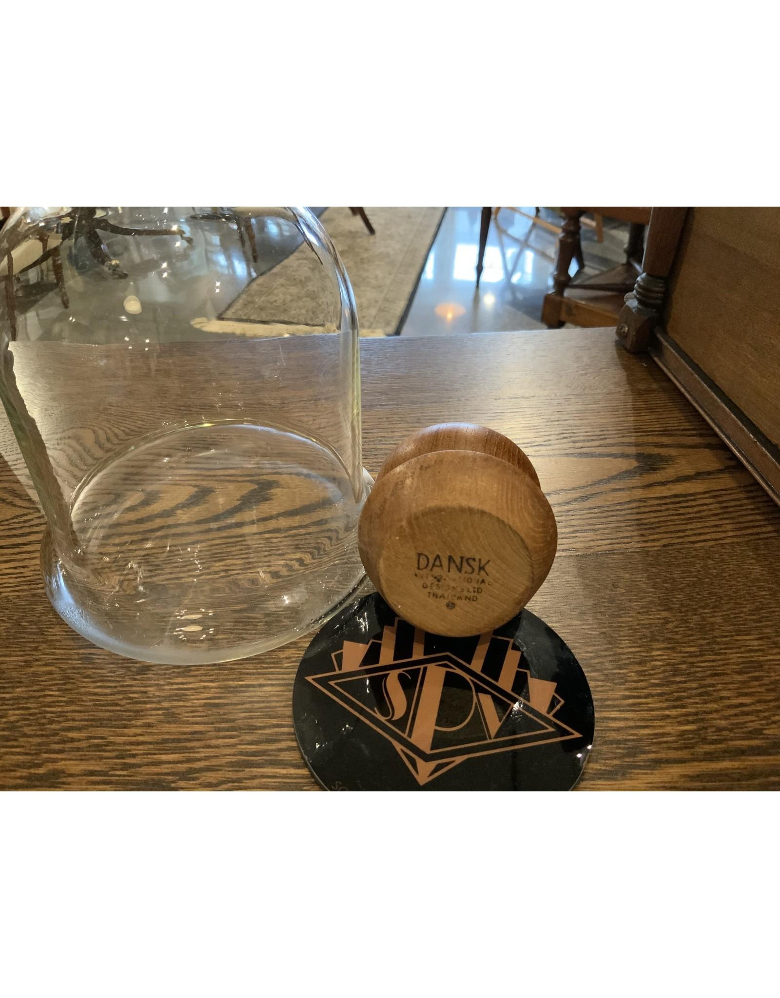 SPV Dansk Wine Carafe, 1-1/2 liters with teakwood stopper designed by Gunnar Cyren