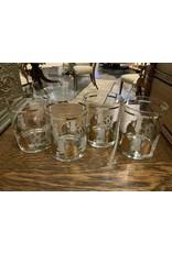 SPV MCM George Briard Cat Cocktail Glasses set of 4