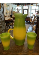 SPV Blendo MCM Lime Green and Yellow Pitcher Set