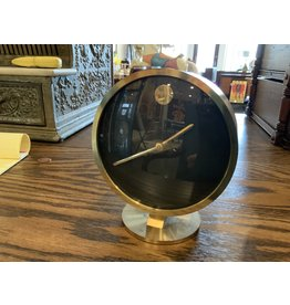 SPV Howard Miller MCM brass desk clock