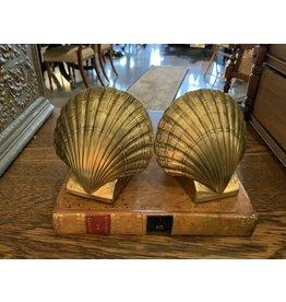 SPV Brass Shell Bookends