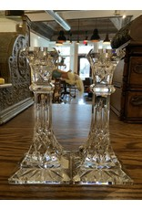 "SPV lismore waterford 8"" candlesticks Set"