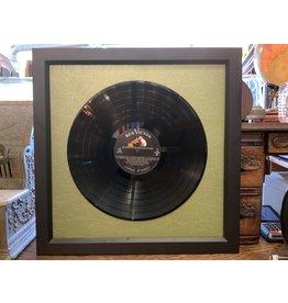 Bix Framing Framed Record Display
