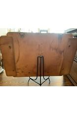 SPV Vintage MCM wood carved dog letter holder