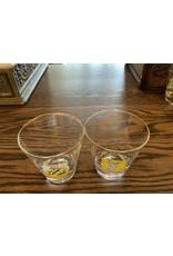 SPV Set of 8 Vintage England Pub Logo Cocktail Glasses
