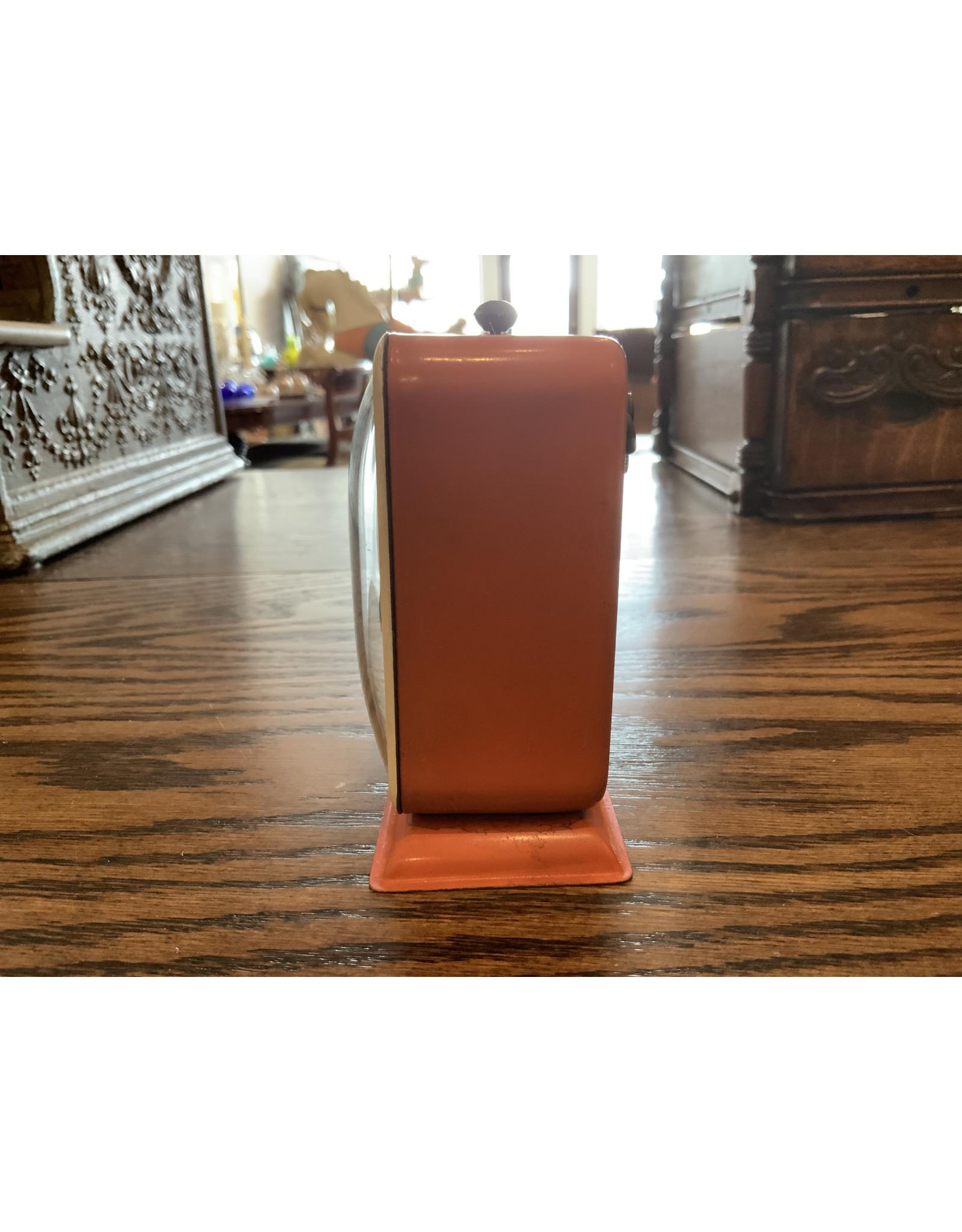 SPV MCM Gilbert Desk Alarm Clock Orange