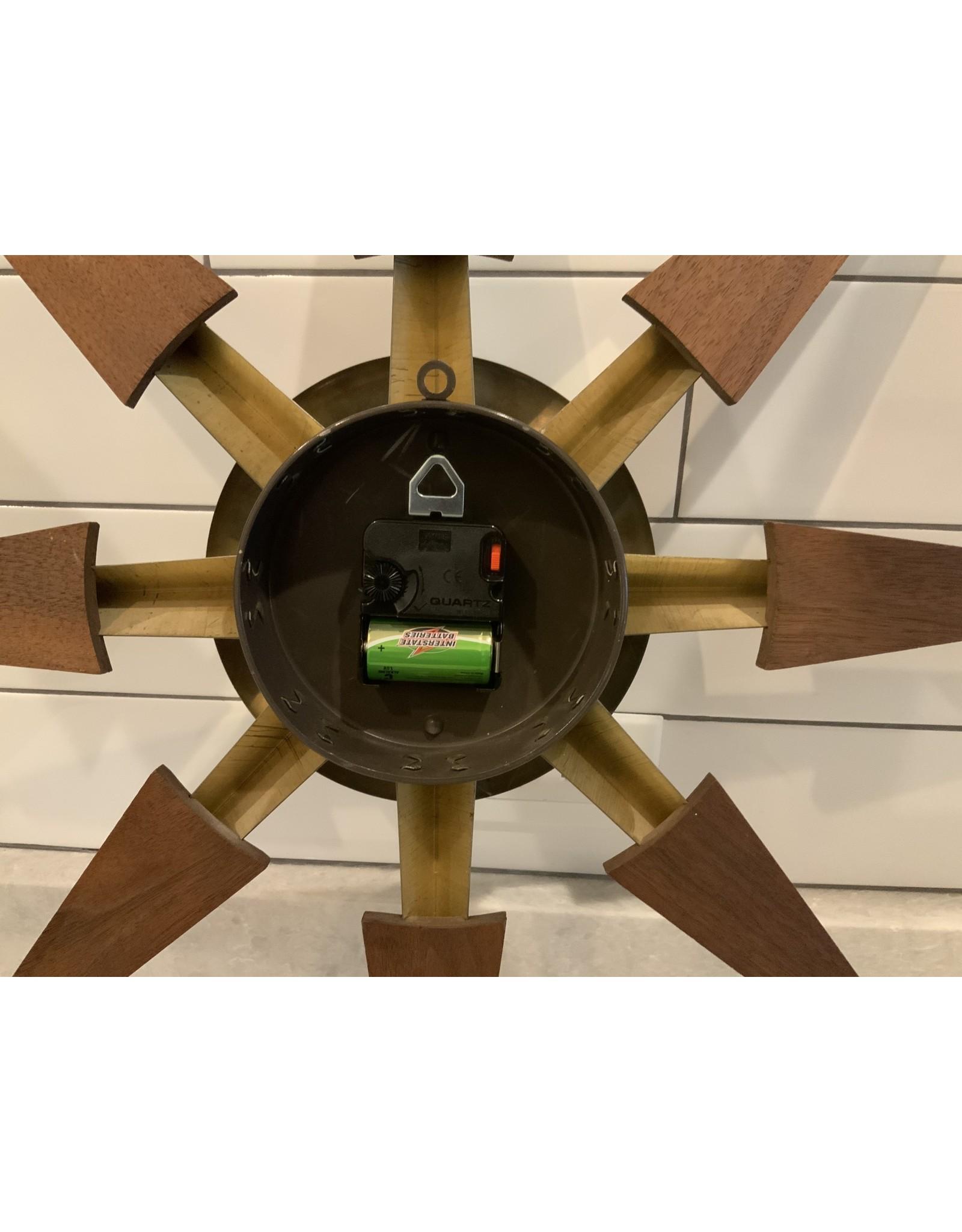 SPV Welby MCM Starburst Wall Clock