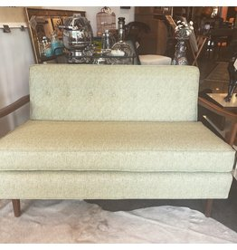 SPV Danish MCM Settee with  two Custom Pillows