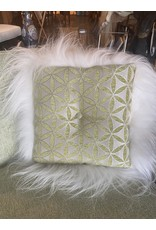 SPV Danish MCM Settee with  two Custom Pillows