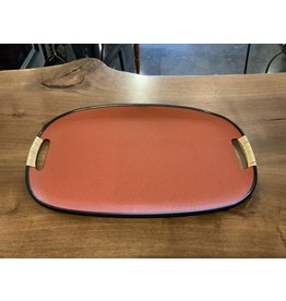 SPV MCM Serving Tray With Wrapped Handles