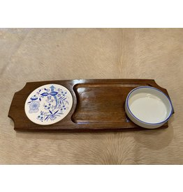 SPV Retro Wood Cheese Serving Tray