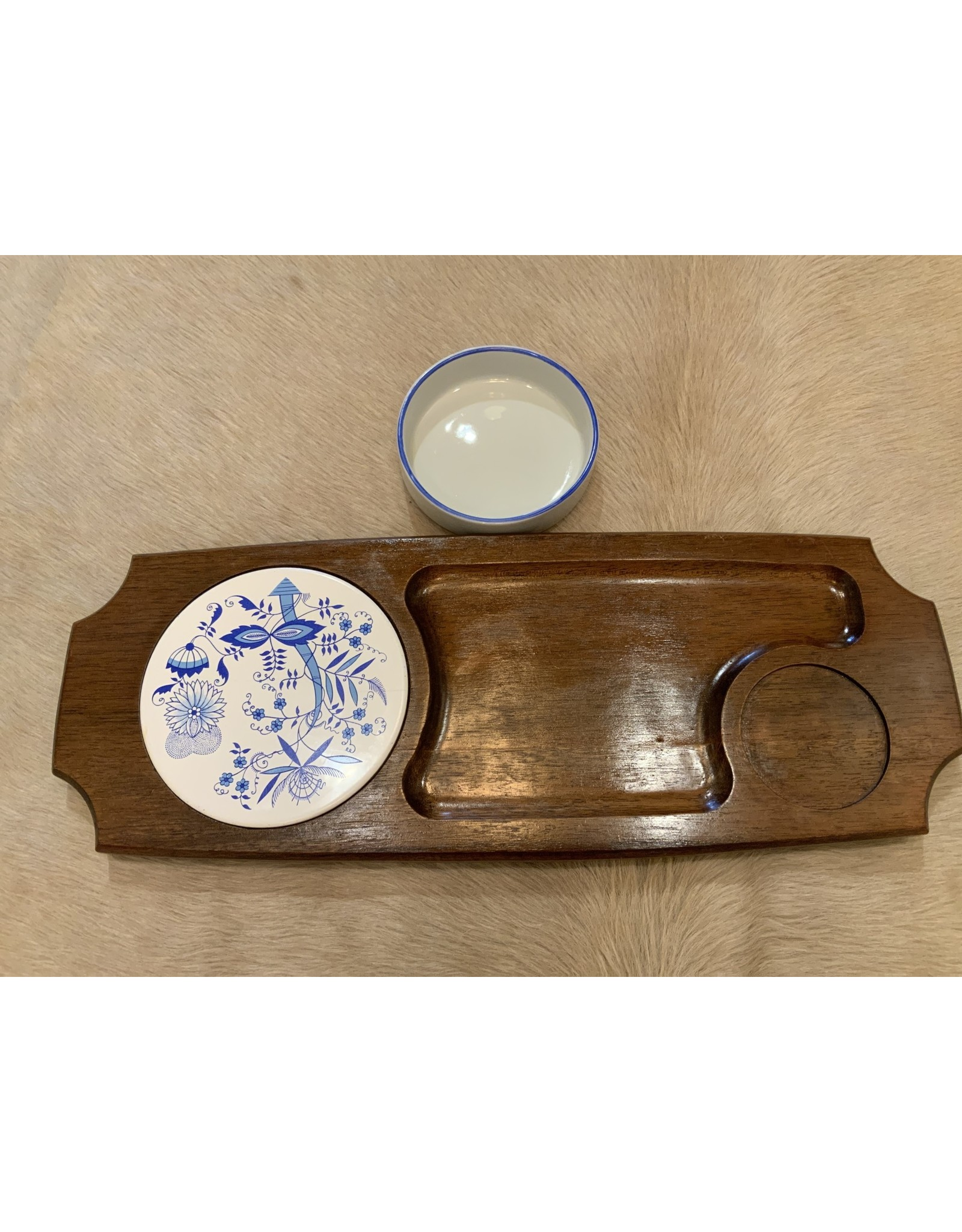 SPV Retro Wood Cheese Serving Tray