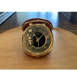 SPV Vintage Elgin Wind-Up Travel Alarm Clock