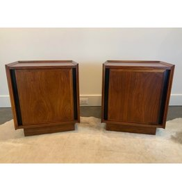 SPV 1950s Set of Mid-Century Modern Dillingham Esprit Nightstand Set of End Tables